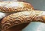 Solid Copper Snake Ring, Body Details