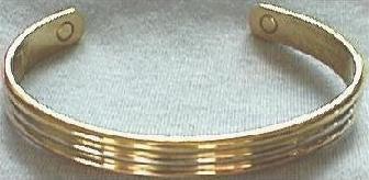Trimetal Magnetic Bracelet
