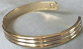Trimetal Magnetic Bracelet, Inside View