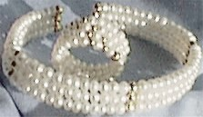 Pearl Ring and Bracelet Set
