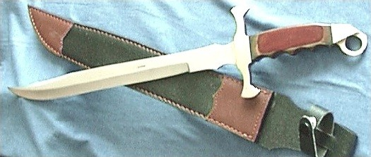 Minisword and Leather Sheath