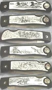 Hunting Pocket Knife Collection